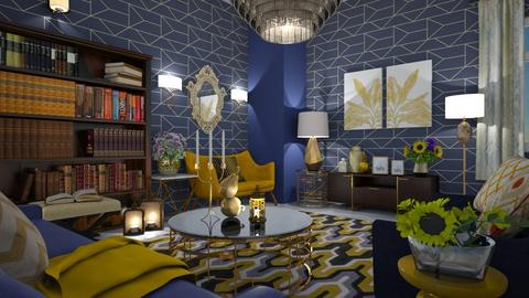 maximalist living room - Living room - by mari mar