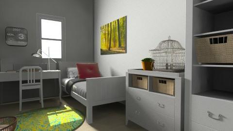 Economical Kids bedroom - Classic - Bedroom - by jeushalumley
