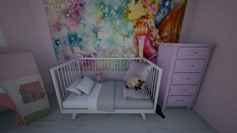 Pink nursery - Kids room - by Unicorns are life