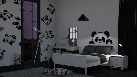 Panda - Bedroom - by RaeCam