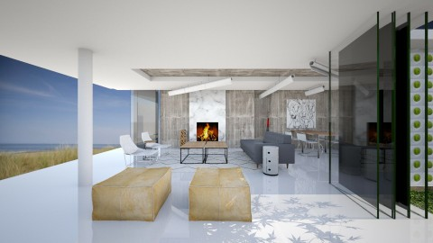 Holiday House on Vlieland - Modern - Living room - by wagner herbst padilha