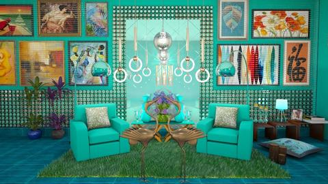 Mirrors - Living room - by eva adil