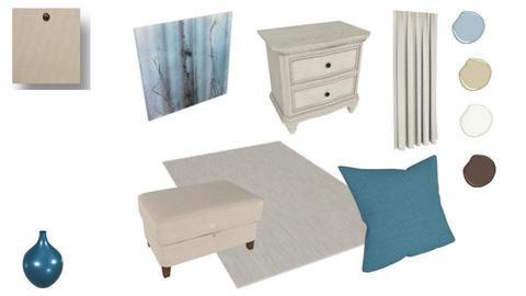 Bedroom neutral blue - by RikiA