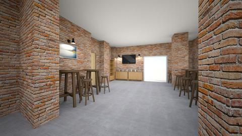 back cafe 1 - Living room - by heidikruse