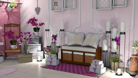 My Place_corner 2 - Living room - by zenaalomran