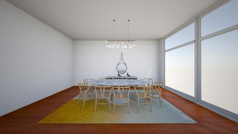marvan wishbone  - Dining room - by karlitajmlm