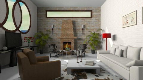 room - Rustic - Living room - by Paper Flower