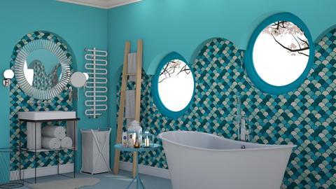 Azur - Glamour - Bathroom - by HenkRetro1960