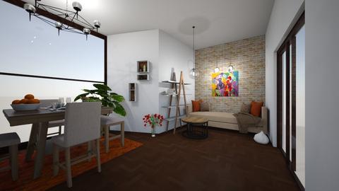 27 - Modern - Living room - by TeodoraYord