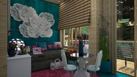 Modern - Living room - by Maria Helena_215