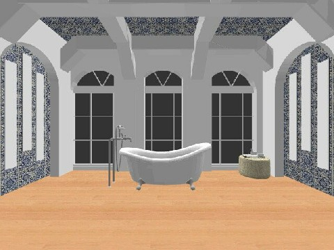 huge bathroom  - Modern - Bathroom - by isabelleee