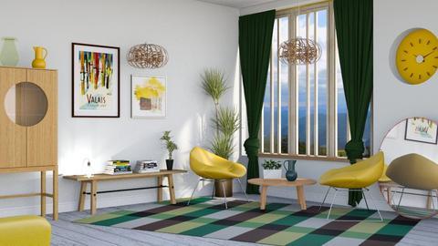 M_S - Living room - by milyca8