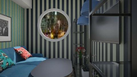 Nakagi Capsule Room 2 srb - Rustic - Living room - by sometimes i am here