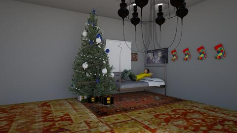 my bed room for contest - Bedroom - by Elios1