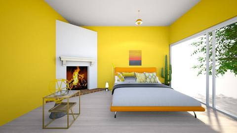 yellow  - Bedroom - by Asa56678