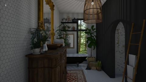 Boho Bath - Bathroom - by aq123