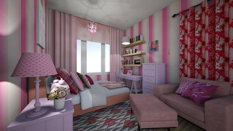 Spare Room After - Bedroom - by Sharon Barnes