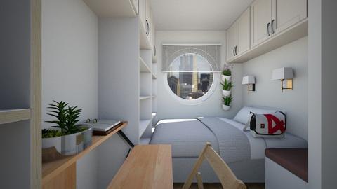 Nakagin Inspired Apt - Bedroom - by SammyJPili