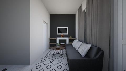 JAPANDI LOUNGE VIEW2 - Minimal - Living room - by moon_safi