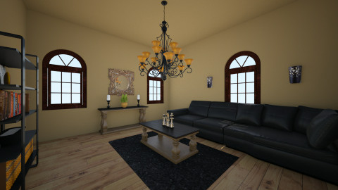 brown - Living room - by ang1stokes