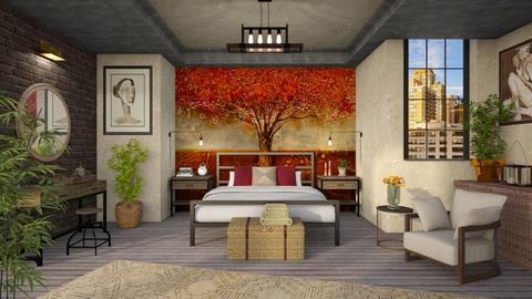 Autumn Mural - Bedroom - by LB1981