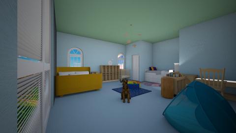 Twins Room 2 3 - Kids room - by DoraNobi