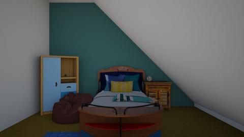 By the sea Bedroom - Bedroom - by Princapessa10