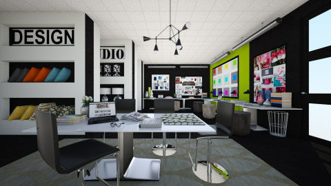 Her Studio - Modern - Office - by channing4