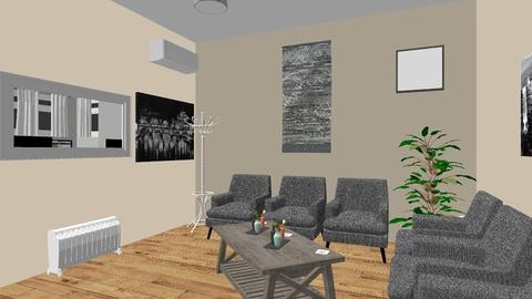 Studio 1 - Modern - Office - by Fucky
