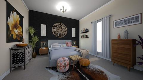 black and warm tones - Global - Bedroom - by katsumi1016