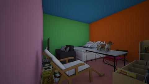 for katya and cristina - Bedroom - by Maria Jose y alex