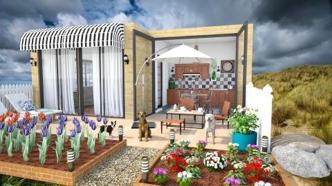 Holiday House - Eclectic - Garden - by katarina_petakovi