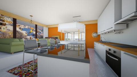 design 8 - Modern - Living room - by maya