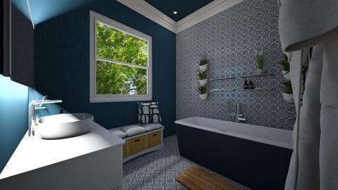 Came Brea Bathroom 2 - Bathroom - by Lisett