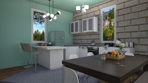 kitchen plus dining room - Kitchen - by Loca910