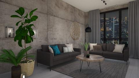 Brown scene - Living room - by KimAlys