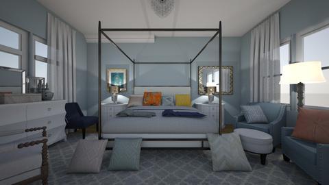 Pool House - Bedroom - by lauren_murphy
