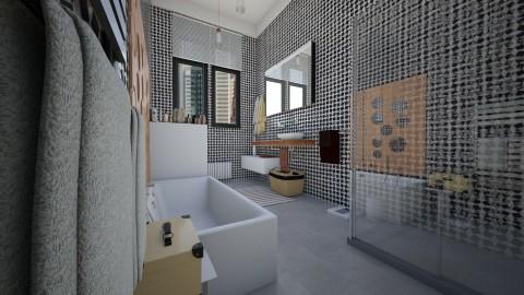 city flat - Bathroom - by Conchy