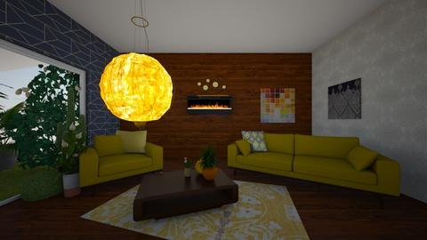 blah blah - Retro - Living room - by A person from Earth
