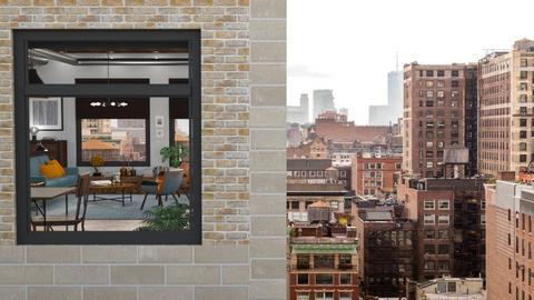 Outside Looking In Brooklyn - Living room - by GraceKathryn