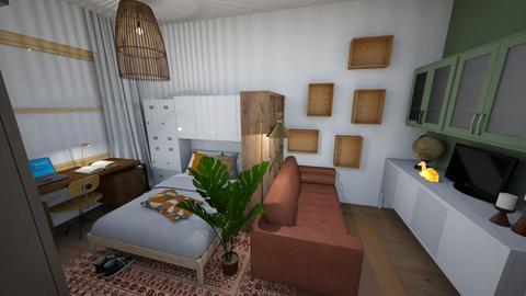 Kamer 16 m2 - Living room - by verarieneke