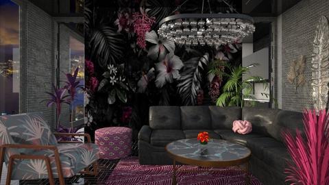 dark Paradiso - Living room - by yulamalina