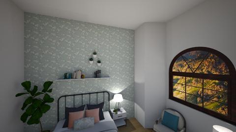 blue wallpaper - by edibetorlak