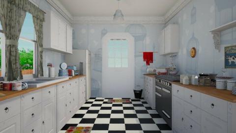 the 60s Kitchen - Retro - Kitchen - by yourjieee