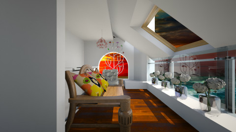Putney attic2 - Classic - by Violeta Sordo