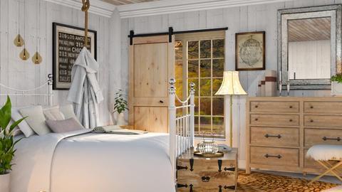 Chic bedroom - by savannahp0562