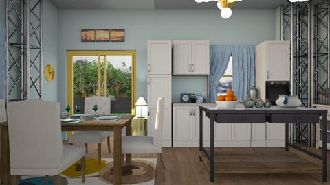 m2 - Kitchen - by straley123456
