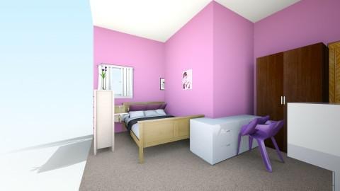 My  - Bedroom - by Jazzrocks