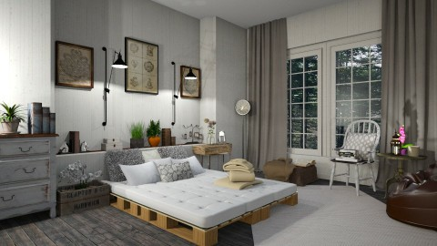 croati bed time - Classic - Bedroom - by leona11