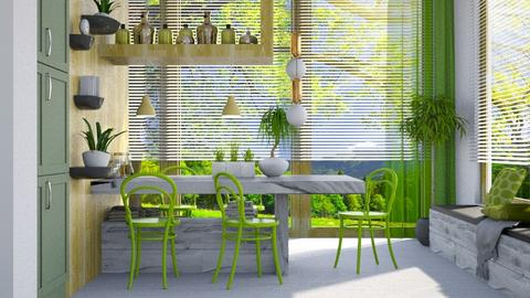 Spring Dining - Dining room - by JayPH